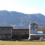 Der Holzvergaser am Biomassehof in GRassau